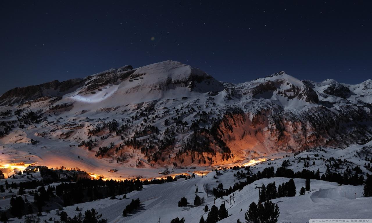 Night Winter View
