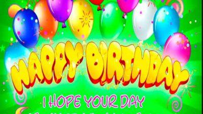 Balloons, Birthday, Happy, Wishes