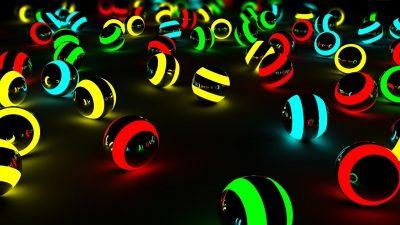 Black, Digital, Green, Hd, Neon, Red, Yellow