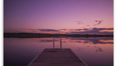 Hd, Horizon, Nature, Purple, Scene, Sunset