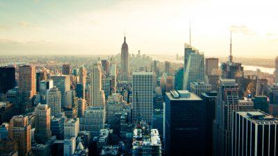4k, 8k, Buildings, City, New York, Skyline