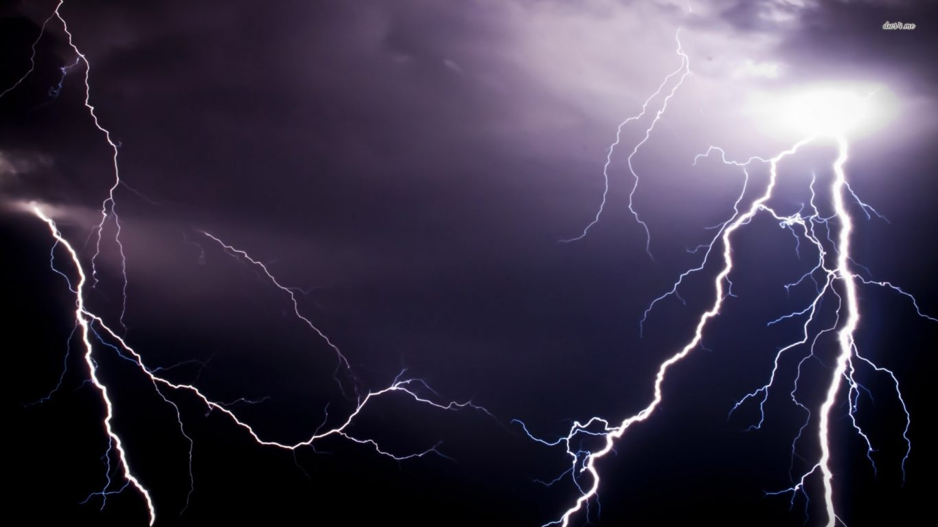 Lightning Background Clouds Hd Lightning Night Nature