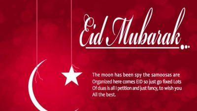 Background, Eid, Mubarak, Pink, Wishes