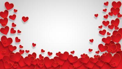 3d, Fantastic, Hearts, Red, Wallpaper