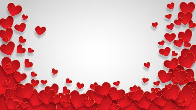Valentine Design Heart Love Background Shape 3089409