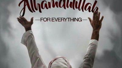 Alhamdulillah, Islamic, Quote