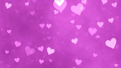 Backgrounds, Hd, Heart, Nice, Purple