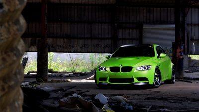 Car, Green, Hd, Stunning, Wallpaper