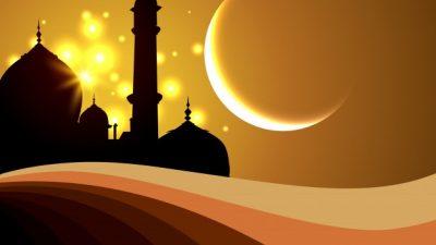 Hd, Islamic, Moon, Mosque, Vector
