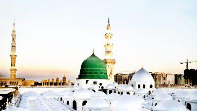 Gumbad, Hd, Islamic, Khizra, Madina, Mosque