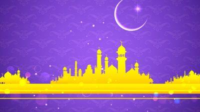 Backgrounds, Hd, Mosque, Purple, Wallpaper