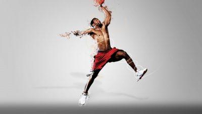 Basket Ball, Hd, Jumping, Sports