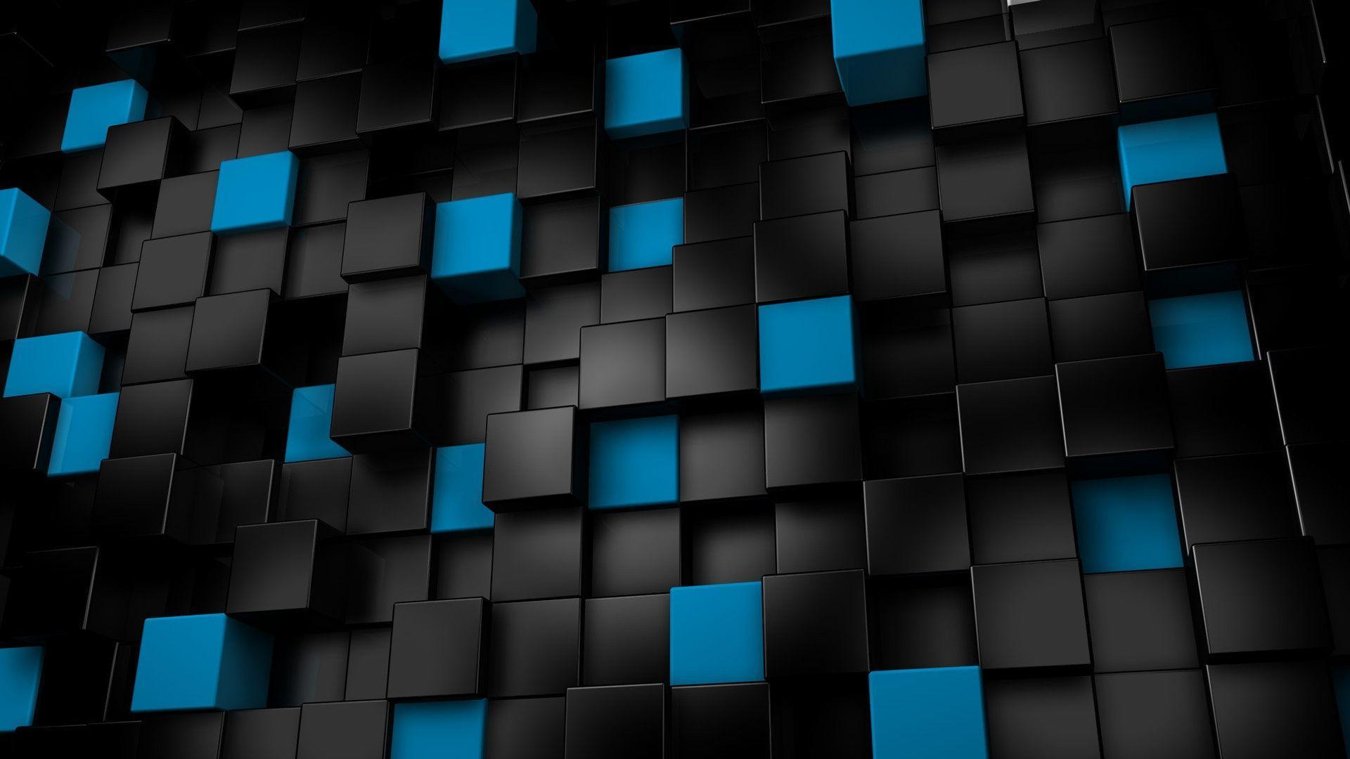 3d, Art, Colorful, Cubes, Image