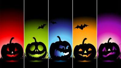 Colored, Digital, Halloween, Hd