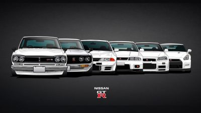 Cars, Full, Image, Nissan, White