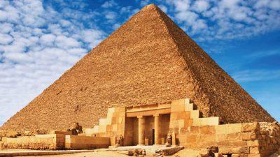 Clouds, Egypt, Hd, Pyramid