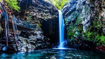 Beautiful, Digital, Natural, Waterfall