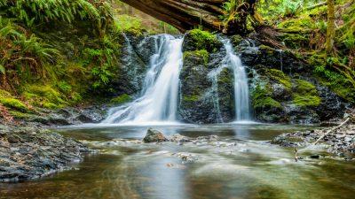 Beautiful, Desktop, Natural, Wallpaper, Waterfall