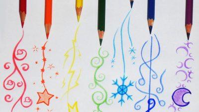 Art, Colored, Digital, Drawing, Hd, Pencils