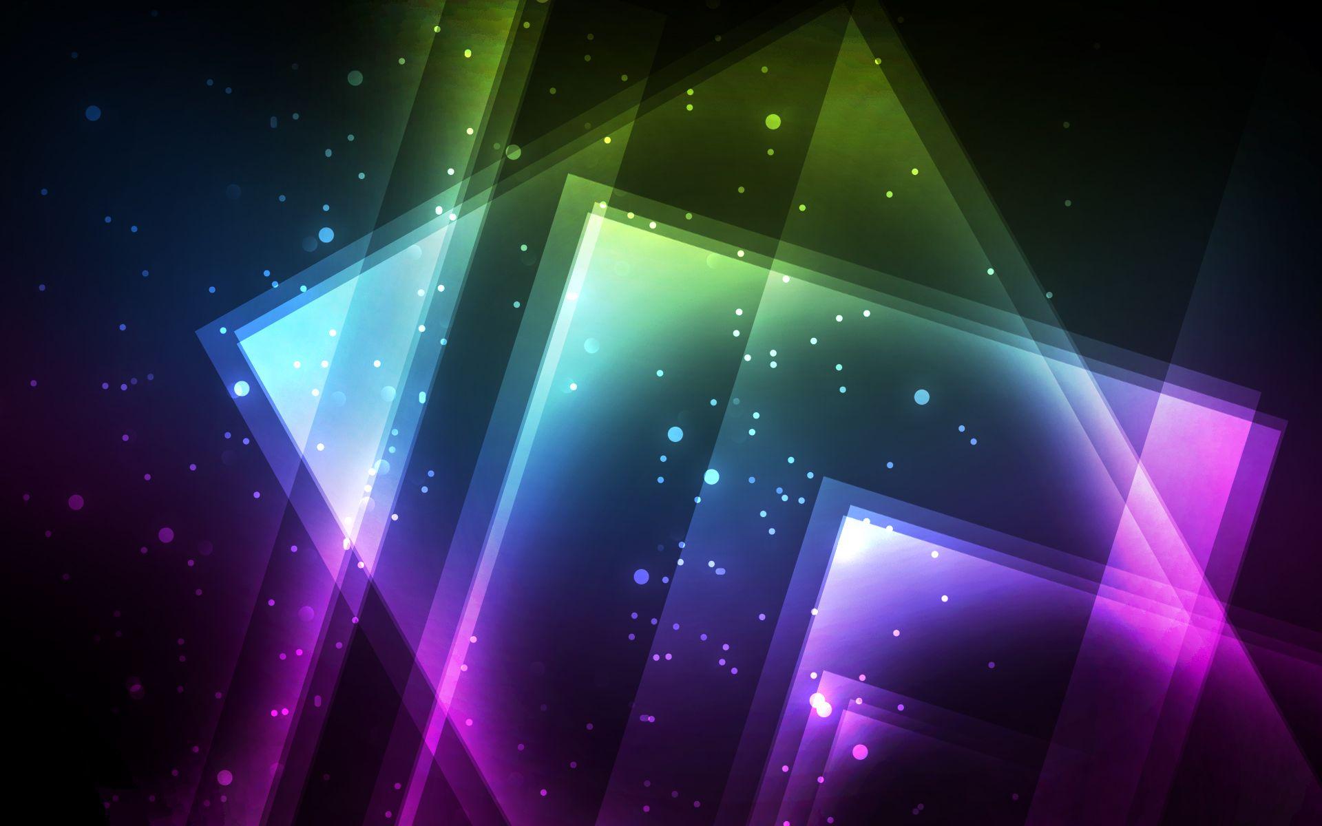 Colourful, Digital, Glow, Hd, Wallpaper