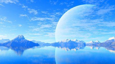 1080p, Blue, Hd, Landscape, Natural, Sky