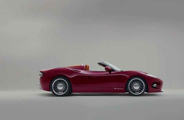 Car, Hd, Image, Red, Spyker B