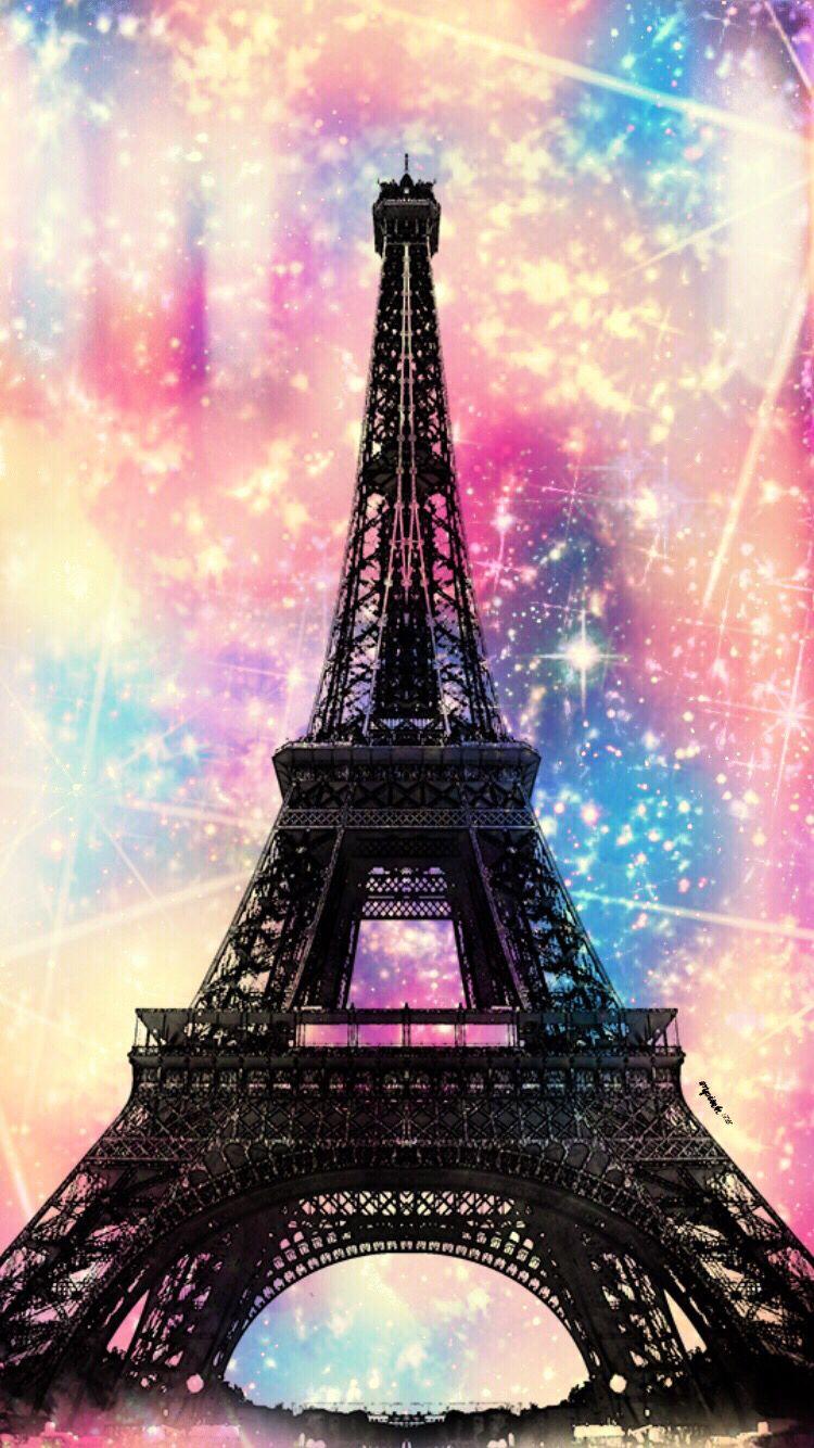 Paris Wallpaper Digital Eiffel Tower Paris Stunning
