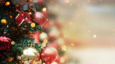 3d, Christmas, Digital, Image, Tree