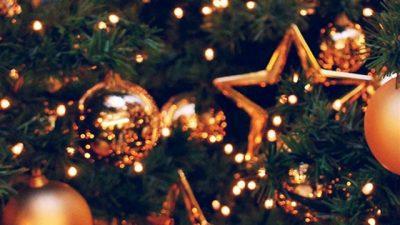 Animated, Ball, Holiday Wallpaper, Tree