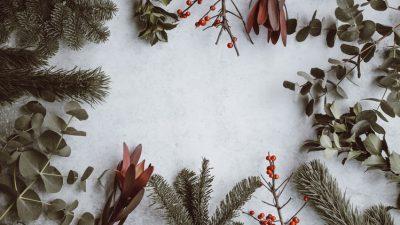 Animated, Christmas, Image, Leafs