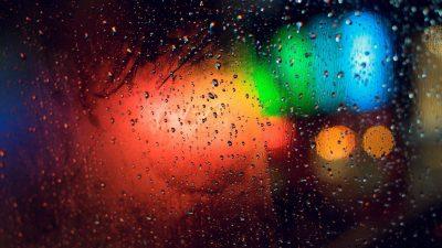 1080p, Colorful, Digital, Drops, Hd, Rain