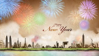 Digital, Fireworks, Hd, Wallpaper, Year