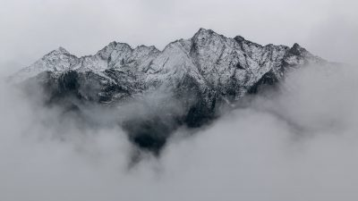 Beautiful, Fog, Mountains, Natural, Wallpaper