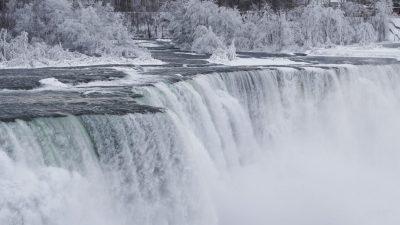 Falls, Frozen, Niagara, Picture