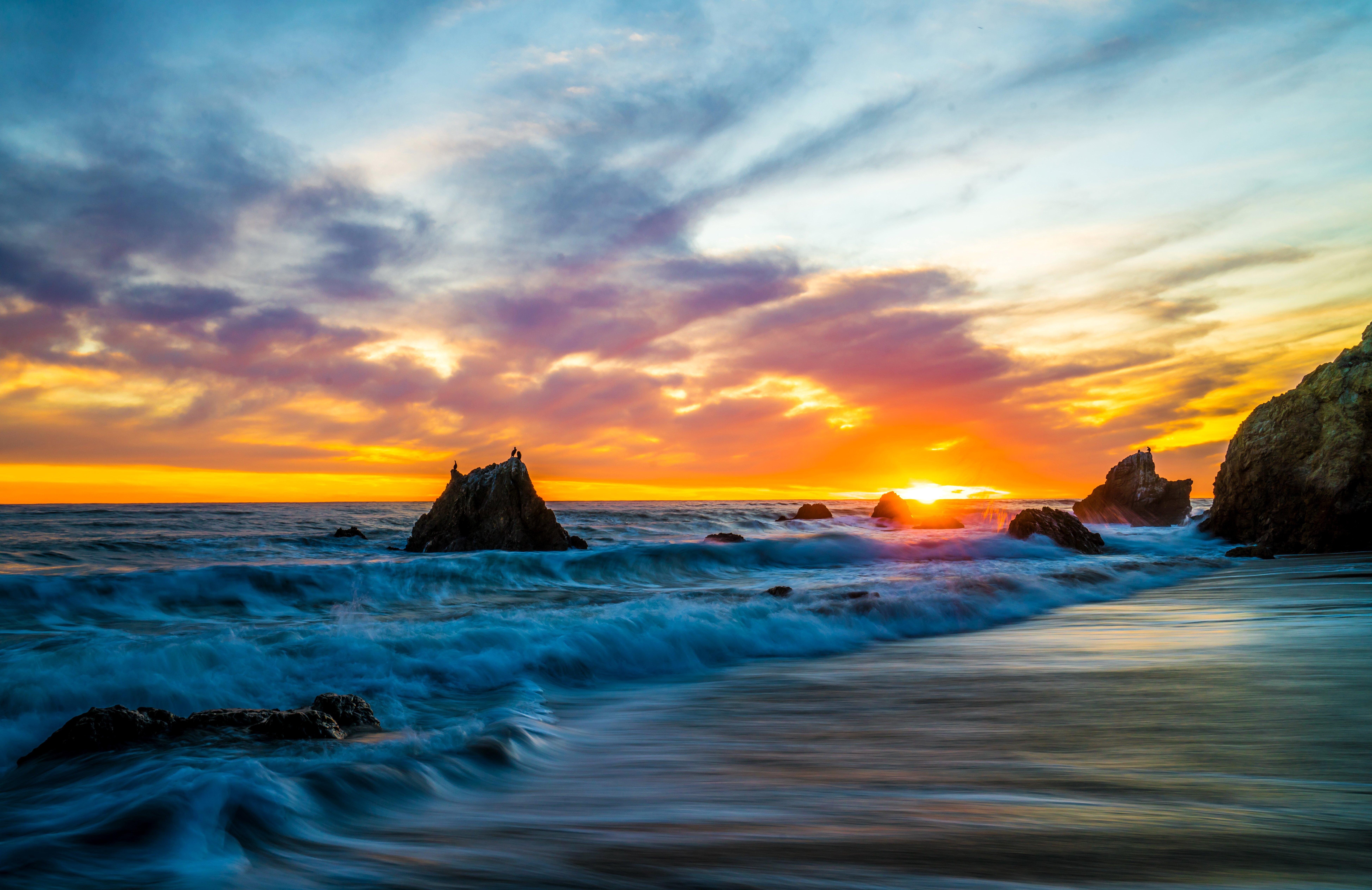 8K Sunset Nature