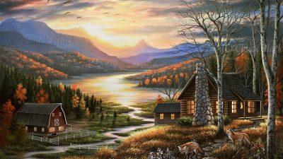 Art, Clouds, Image, Landscape, Stunning