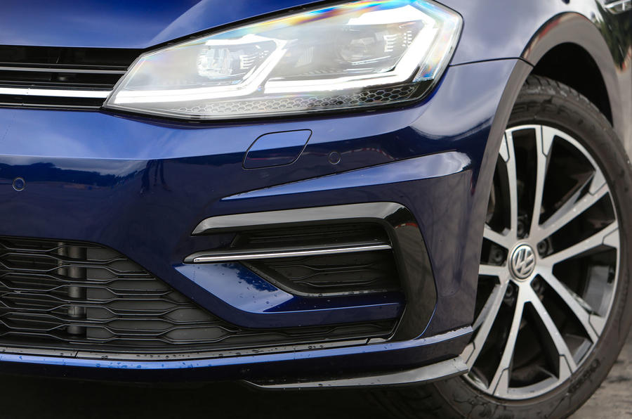 Volkswagen Golf Close-up