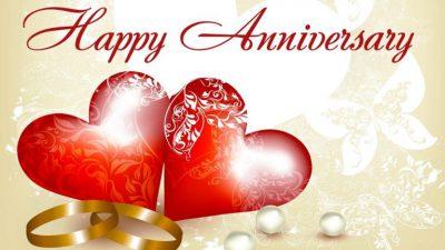 Anniversary, Beautiful, Happy, Heart, Red, Wallpaper