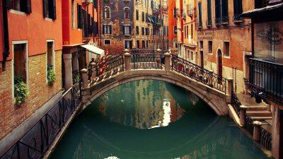 Birdge, Free, Hd, Venice, Wallpaper