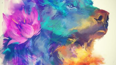 Art, Awesome, Digital, Hd, Lion, Wallpaper