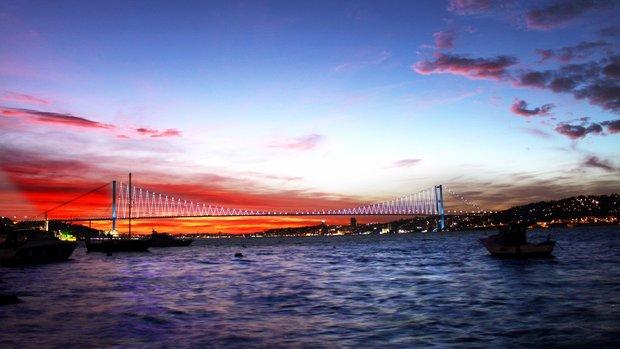 Beautiful, Clouds, Colorful, Photo, Sea, Turkey