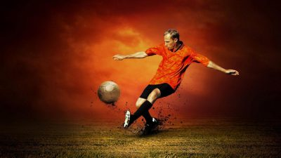 Footballer, Hd, Image, Sport