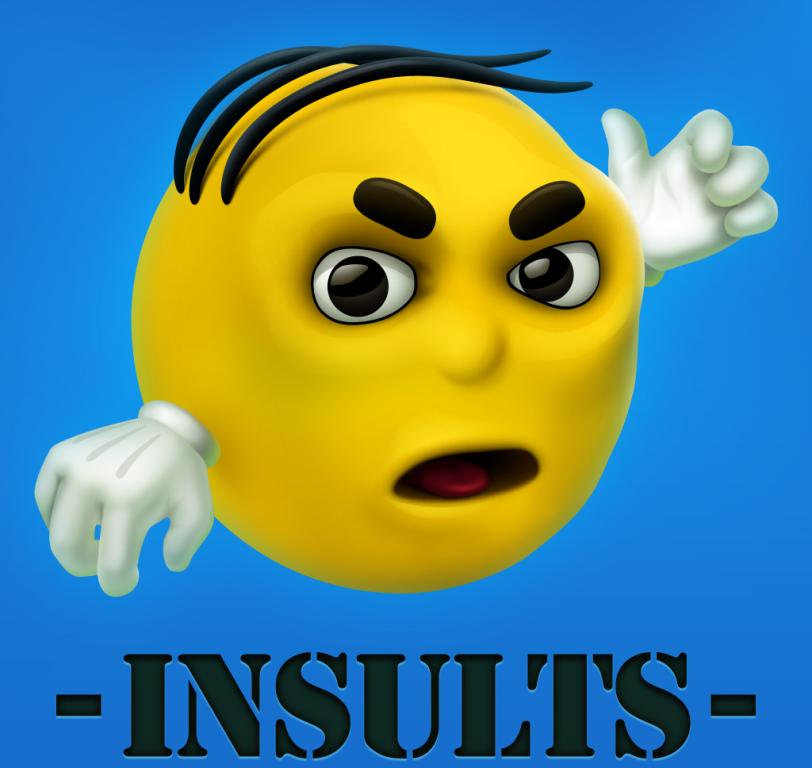 Insult Wallpaper