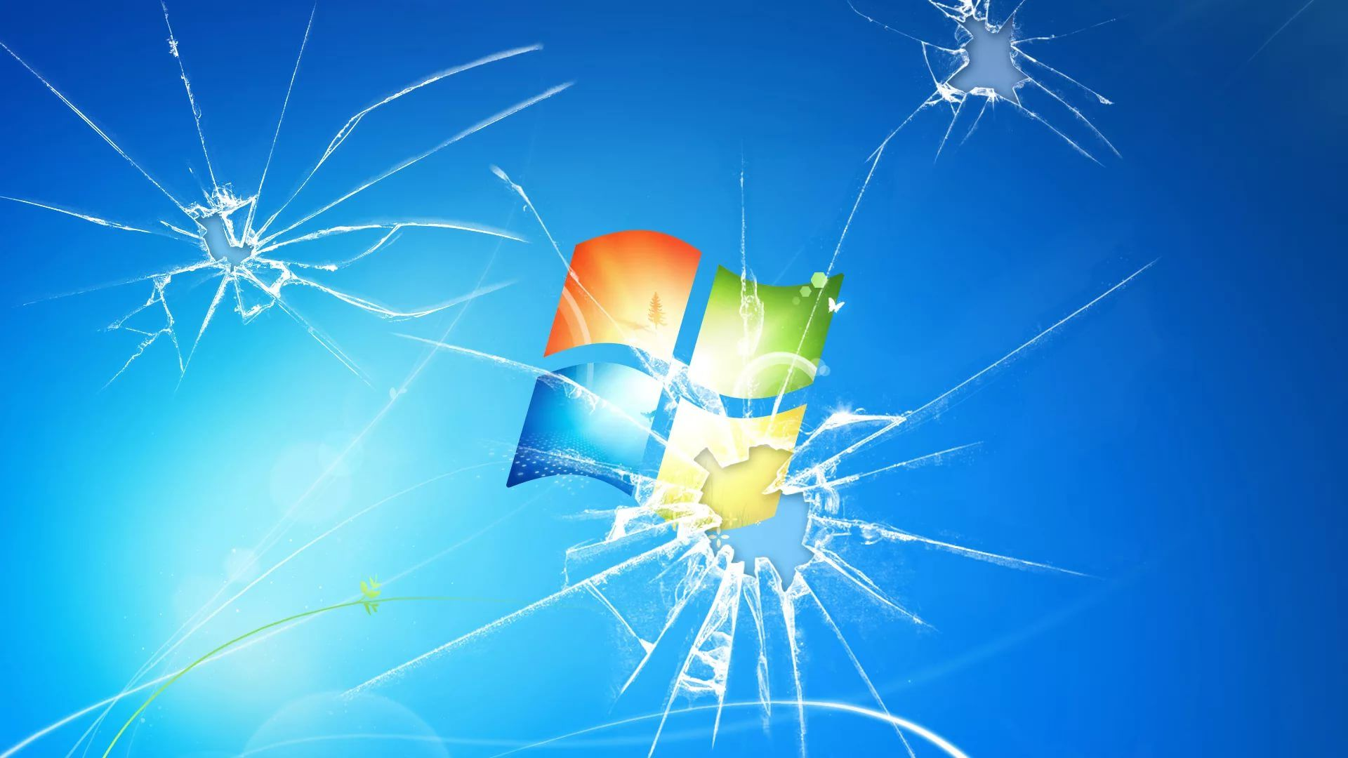 Broken Screen Photo