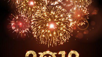 Art, Background, Golde, New, Year