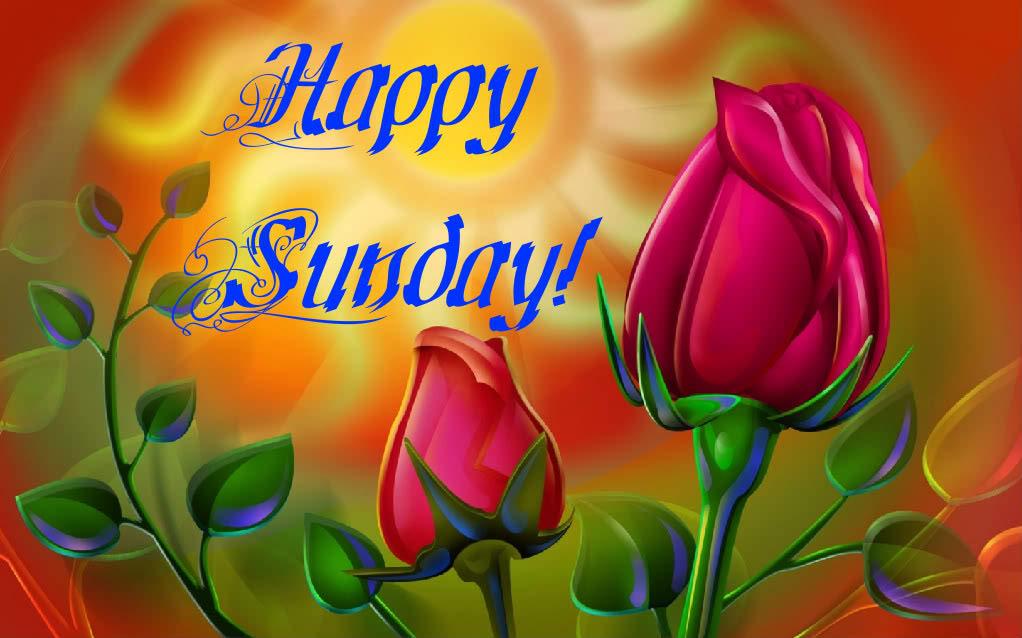 Happy Sunday Background