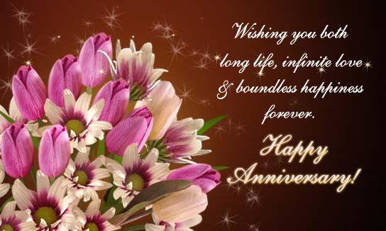 Happy Wedding Anniversary Background
