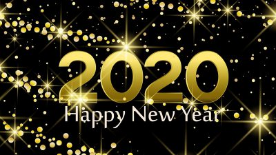 2020, 3d, Photo, Vector, Yellow