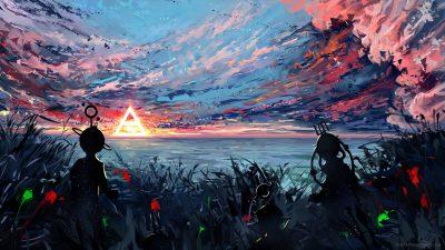Art, Clouds, Colorful, Image, Super