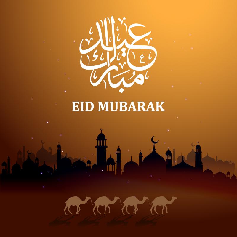 eid mubarak card image beautiful card eid hd mosque